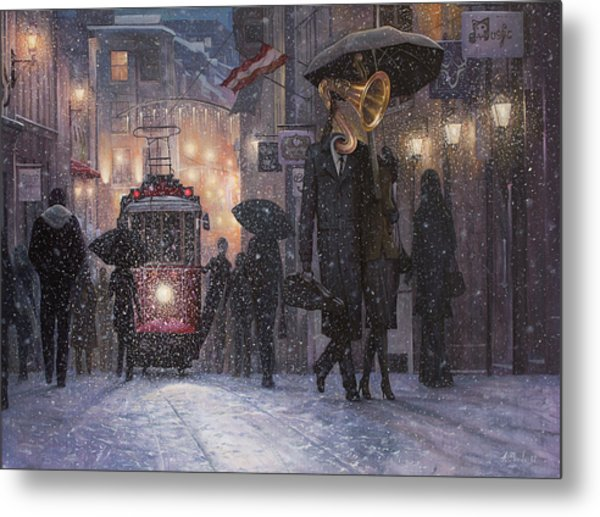 A Midwinter Night's Dream Metal Print