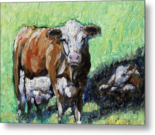 A Mother's Love Metal Print by Sheila Tajima