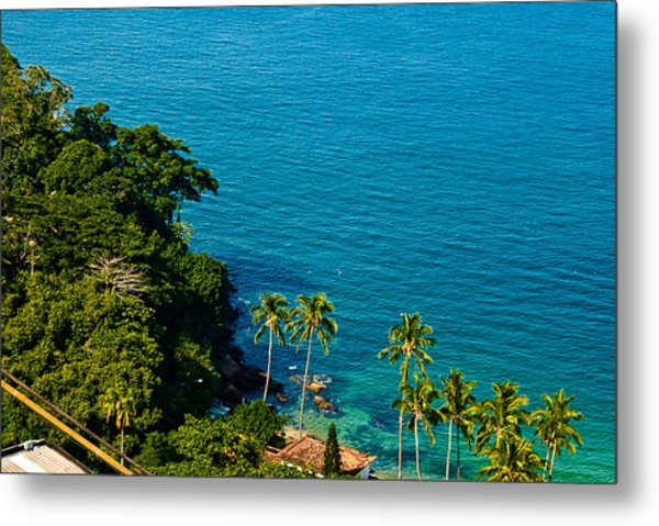 A New Vision About Urca Metal Print by Daniel Wander