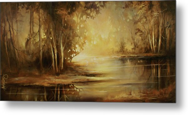 A Quiet Moment Metal Print