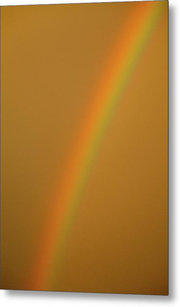 A Sunset Rainbow Metal Print