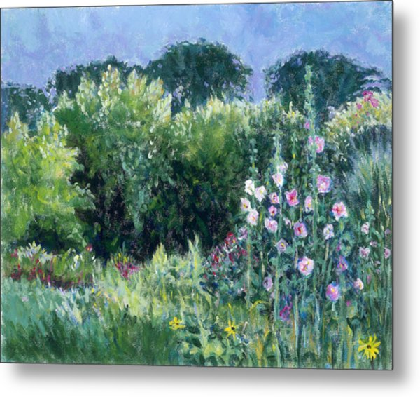A Walk In The Garden Metal Print