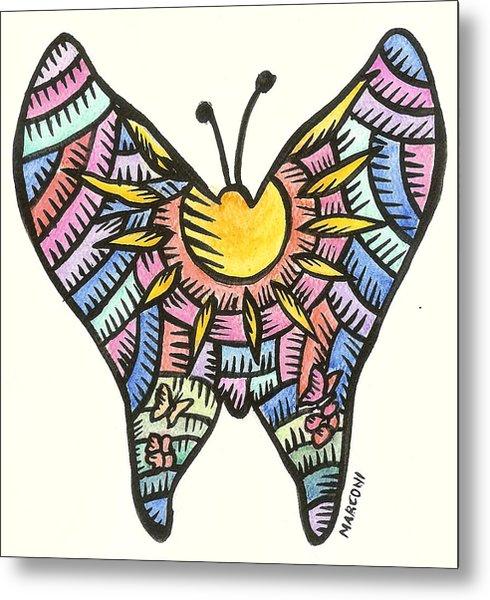 Ababang Guam Butterfly 2009 Metal Print