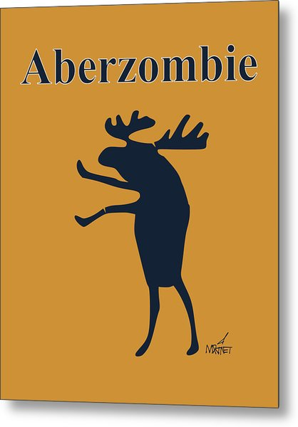 Aberzombie Metal Print