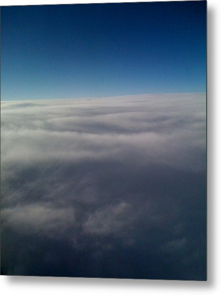 Above The Clouds Metal Print by Veronica Trotter