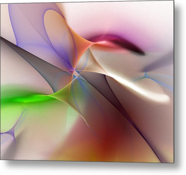 Abstract 082710 Metal Print