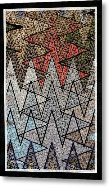 Abstract Floor  Metal Print