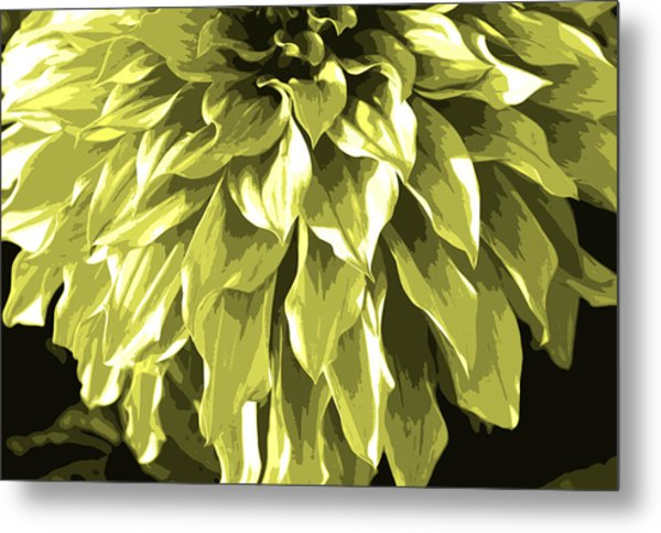 Abstract Flower 5 Metal Print