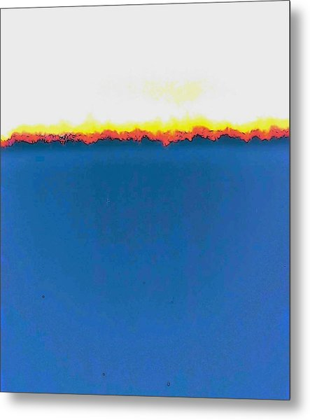 Abstract In Primary Colors Metal Print