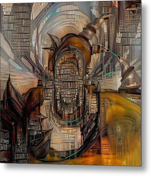 Abstract Liberty Metal Print