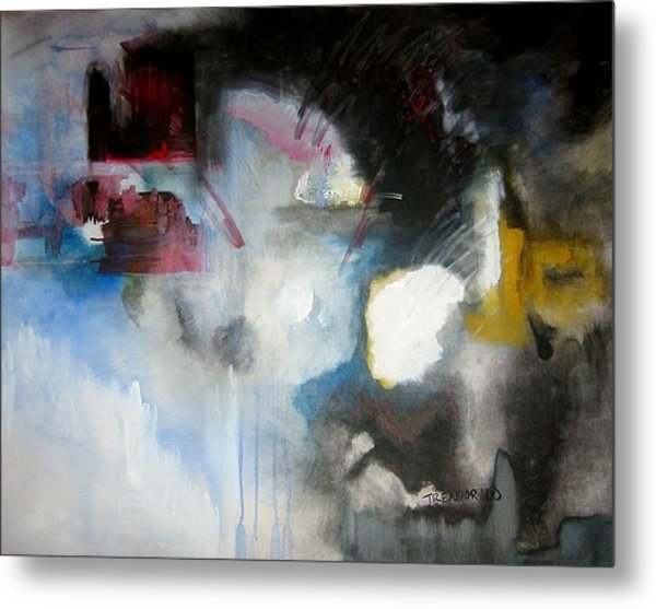 Abstract No 5 Metal Print by Halle Treanor