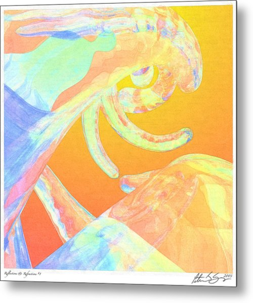 Abstract Number 1 Metal Print
