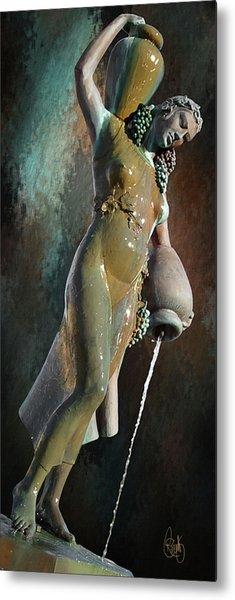 Abundance Statue Metal Print
