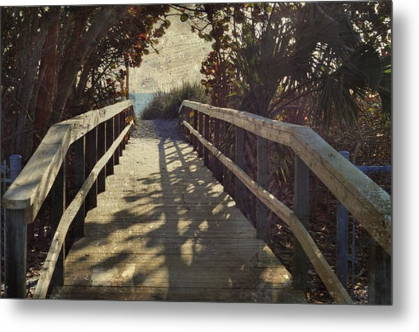 Access Point Metal Print by Steve Cole