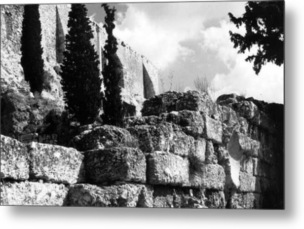 Acropolis Metal Print by Susan Chandler