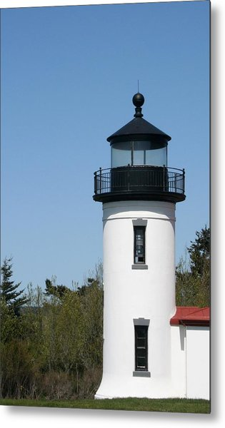 Admiralty Head Lighthouse Li2001 Metal Print by Mary Gaines