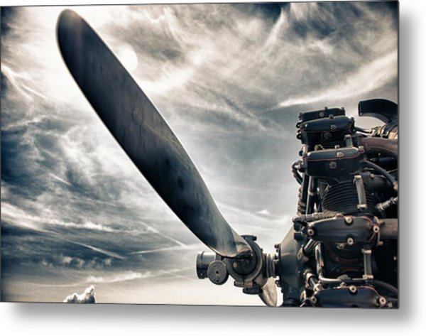 Aero Machine Metal Print