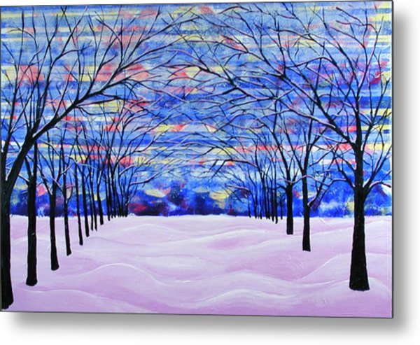 After The Snow Metal Print by Rollin Kocsis