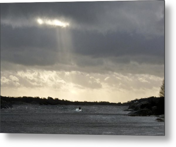 After The Storm Metal Print by Dan Andersson