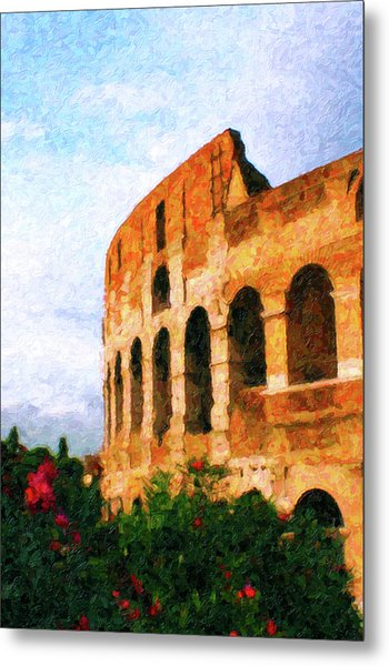 Afternoon In Rome Metal Print