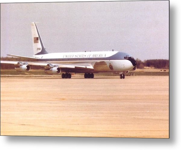 Air Force One At Andrews Air Force Base Metal Print