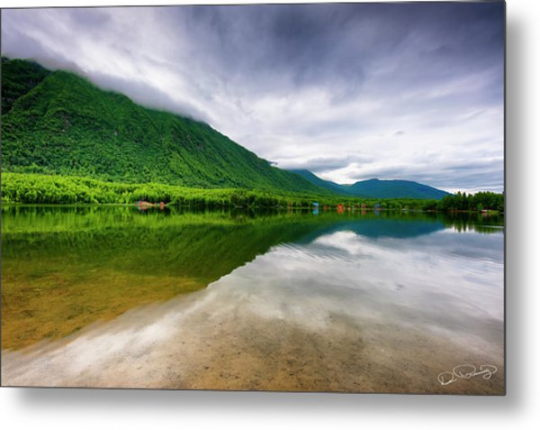 Alaska's Mirror Lake Metal Print
