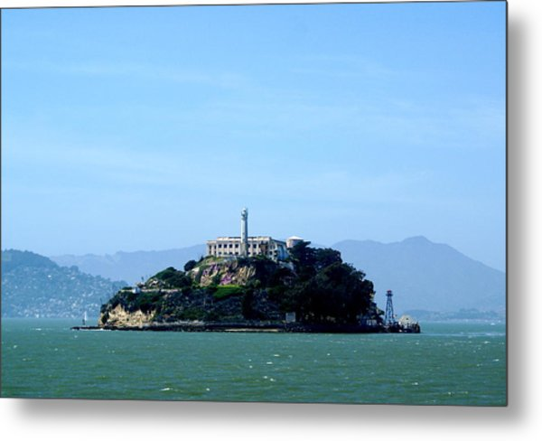 Alcatraz Island Metal Print by Sonja Anderson