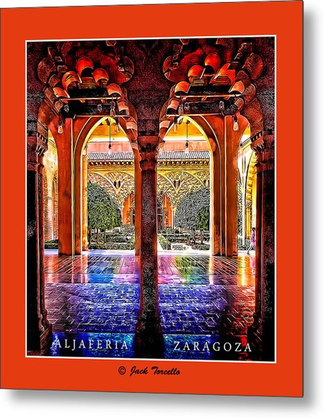 Aljaferia Coloratura Metal Print