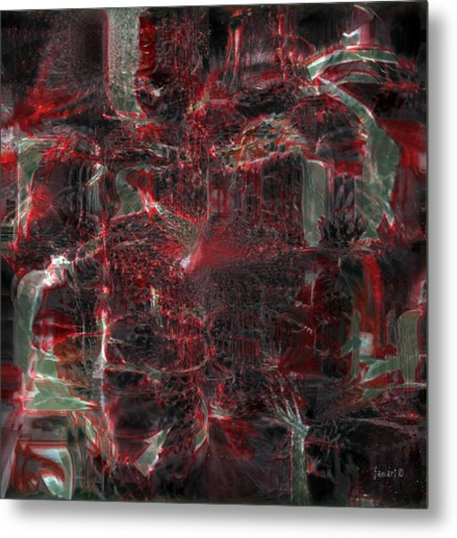 All Five Senses Are Filled With The Arts Metal Print by Fania Simon
