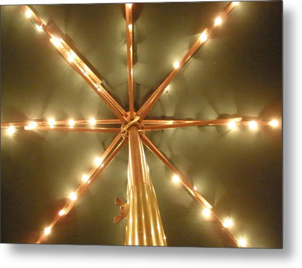 All Lit Up Metal Print by Siobhan Yost