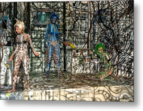 All One Inside Another Metal Print by Leigh Odom