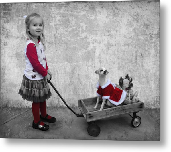 Along For The Ride Metal Print