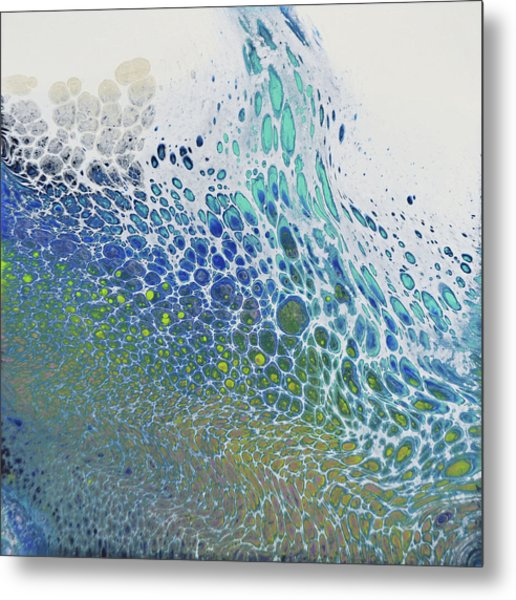 Along The Wish Filled Shore Metal Print
