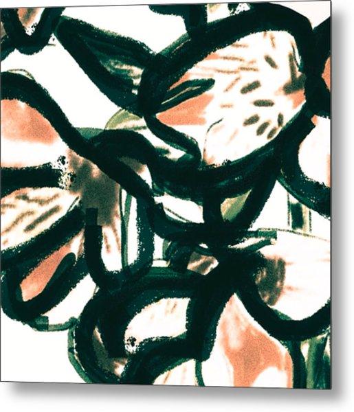 Alstroemeria  Metal Print