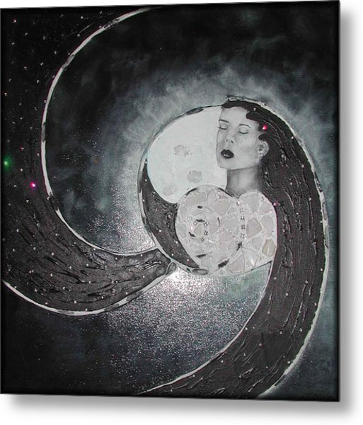 Always In Love Metal Print by Rebecca Tacosa Gray