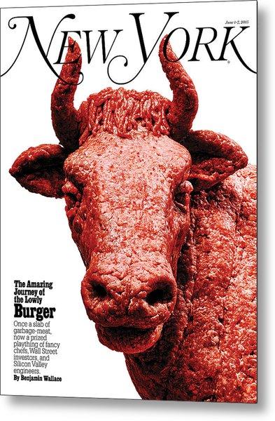 The Amazing Journey Of The Hamburger Metal Print