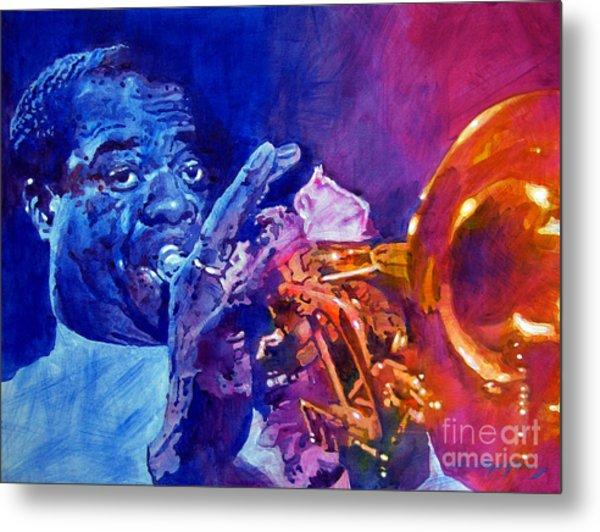 Ambassador Of Jazz - Louis Armstrong Metal Print