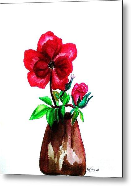 American Beauty Rose Metal Print