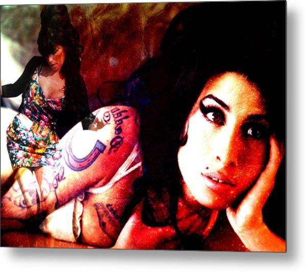 Amy Amy Amy Metal Print by Ankeeta Bansal