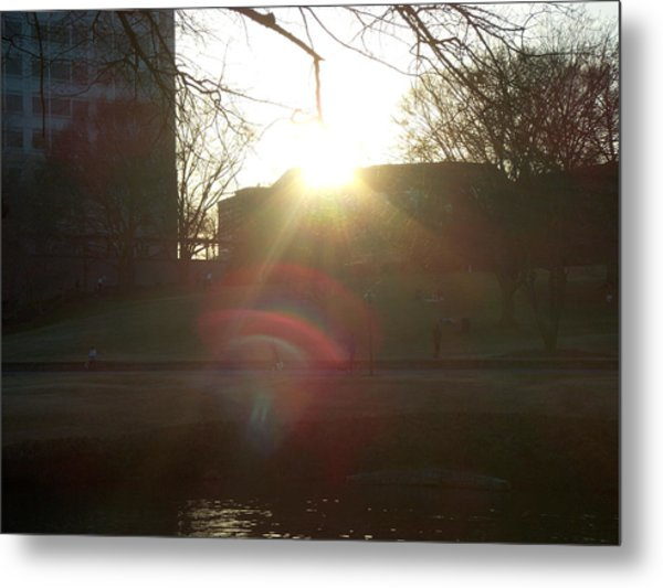 An Afternoon Of Light Metal Print by A Windhauser