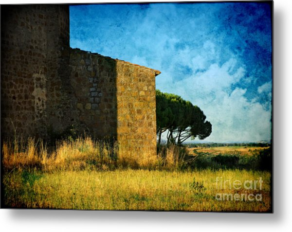 Ancient Church - Italy Metal Print