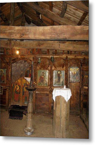 Ancient Ortodox Church In Bulgaria Metal Print
