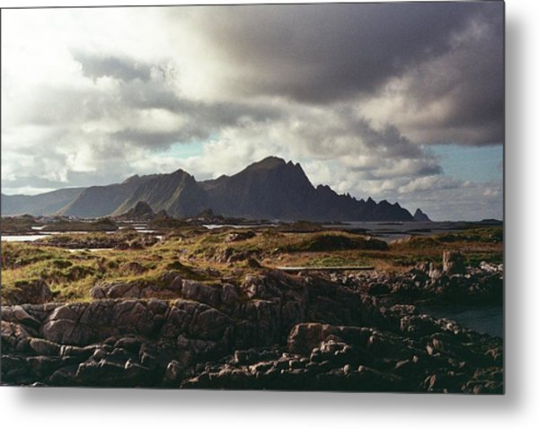 Andenes Metal Print by Gregory Barger