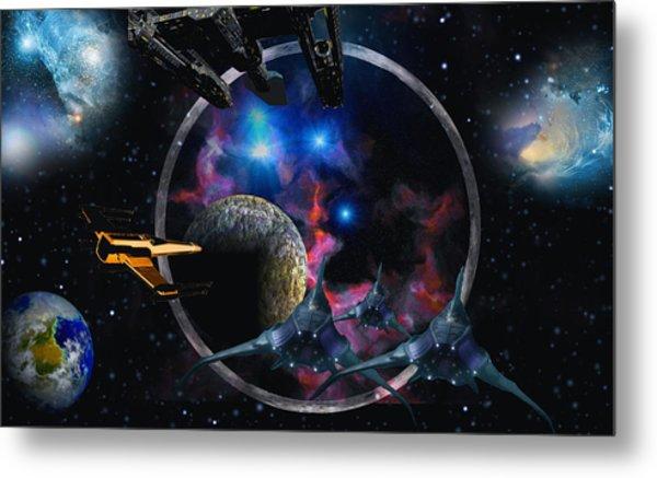 Andromeda Beckons Metal Print by David Jackson