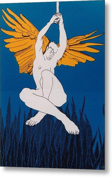 Angel Metal Print by E Gibbons