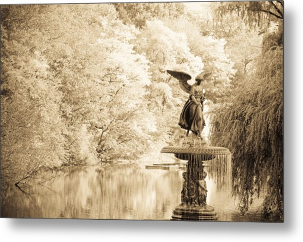 Angel Of The Waters Metal Print by Andria Patino