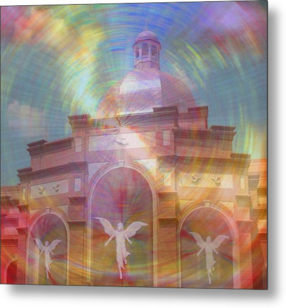 Angel Sanctuary Metal Print