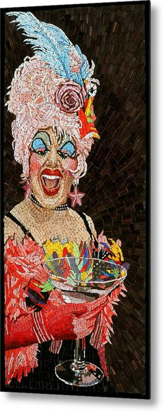 Anita Cocktail Metal Print by Michael Kruzich