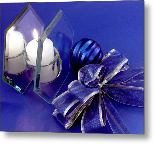 Another Blue Christmas Metal Print