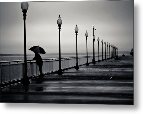 Another Rainy Day Metal Print by Girardi Santiago